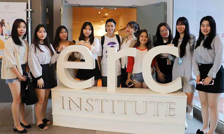 Hàng năm, học viện ERC đón rất nhiều du học sinh từ các nước