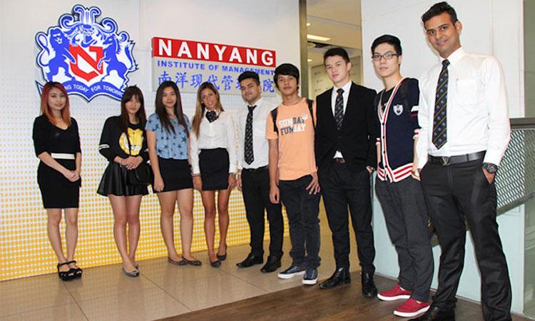 Học viện quản lý Nanyang thu hút rất nhiều sinh viên quốc tế theo học