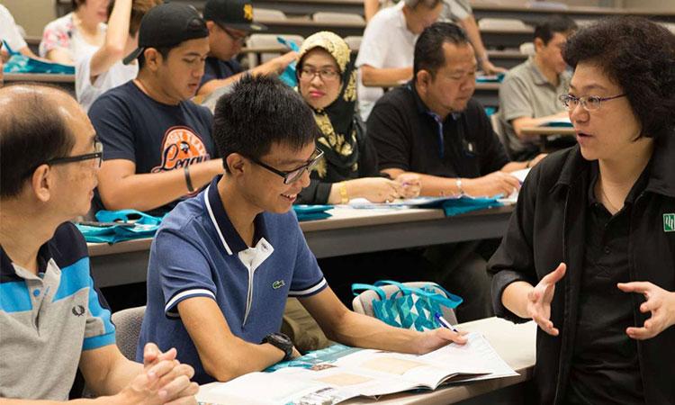 Học viện SIM Singapore là một trong những những nơi tập trung đông sinh viên nước ngoài