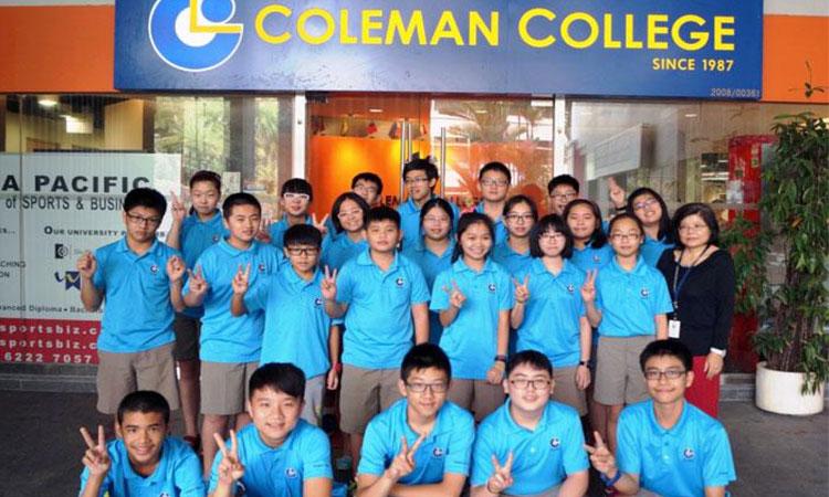 Ôn thi trường công lập tại Trường Coleman College Singapore