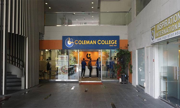 Trường tư thục Coleman College: Học bổng, ngành học, chi phí và cơ hội việc làm