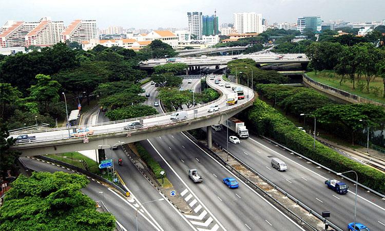 Hệ thống giao thông hiện đại, đồng bộ tại Singapore