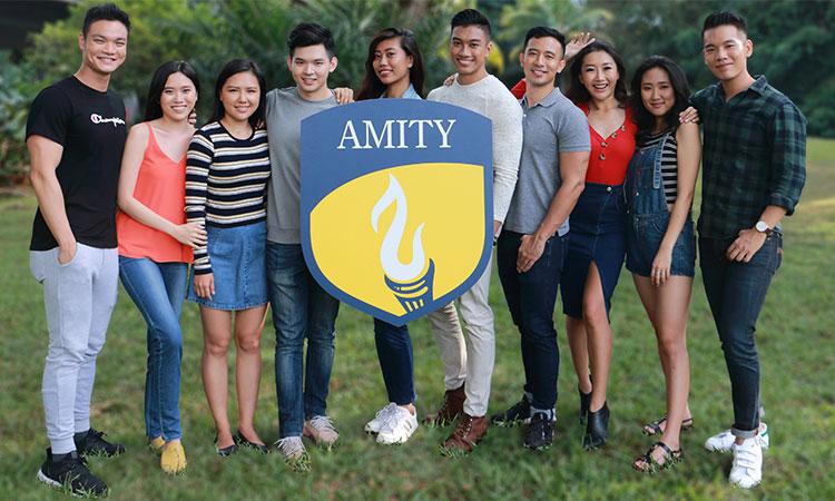 Học viện Amity được nhiều sinh viên ngoại quốc lựa chọn