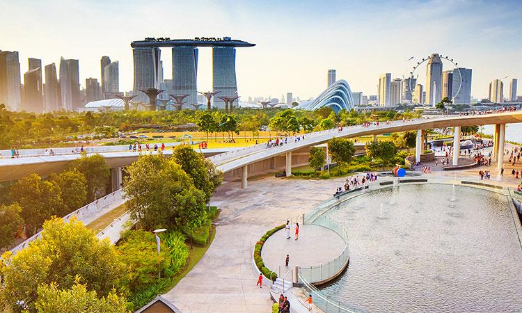 Singapore có khí hậu mát mẻ, nhiệt độ luôn ổn định