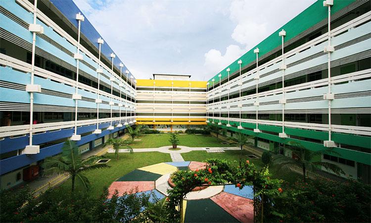 Trường quốc tế Shelton có khuôn viên rộng lớn