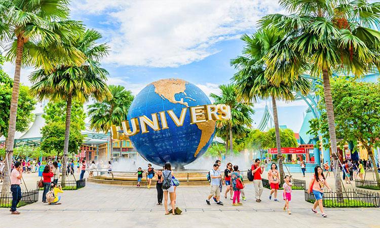Universal Studio tại Singapore - địa điểm thu hút rất nhiều khách du lịch