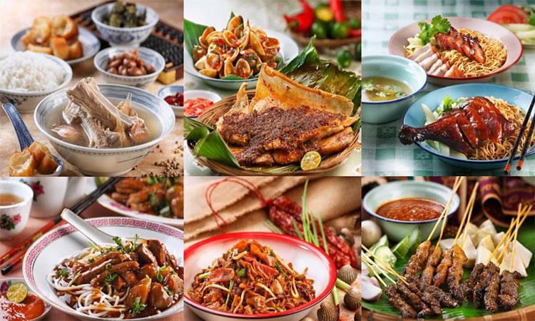 Văn hóa ẩm thực của Singapore kết hợp nhiều nền ẩm thực đa dạng, phong phú