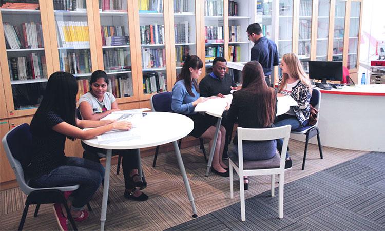 FTMS cũng cung cấp các khóa học tiếng Anh cho sinh viên