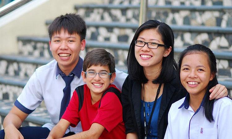 Học tập tại trường San Yu Adventist School