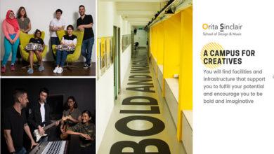 Du học ngành thiết kế và âm nhạc tại trường Orita Sinclair of Design and Music – Singapore