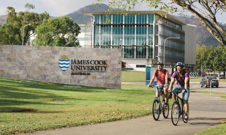 Khuôn viên trường Đại học James Cook một trong những trường Công lập tại Singapore