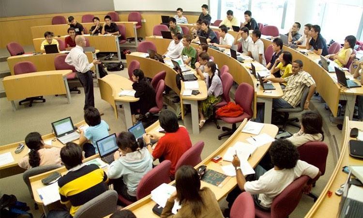Môi trường học tập chuyên ngành luật tại Singapore hết sức chuyên nghiệp