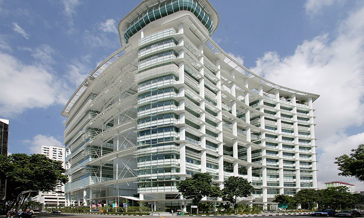 Học viện Informatics Singapore nằm tại tầng 13 tại Tòa nhà Thư viện Quốc gia tại Phố Victoria